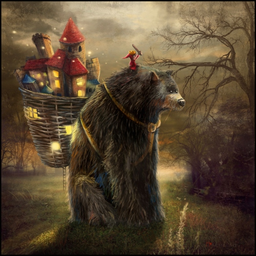 Matylda Konecka - Bear Who Carried  Kingdom