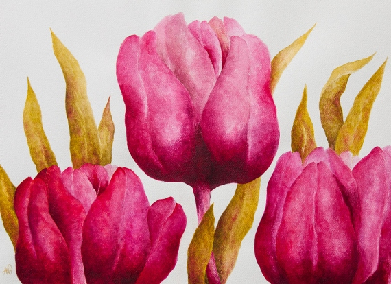 Anna Wojciechowska-Paprocka - Tulips 7