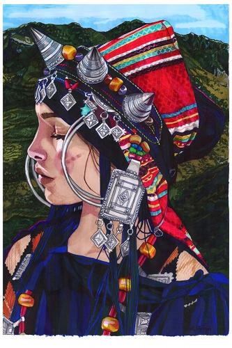 Monika Wyłoga - Amazigh woman