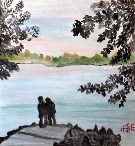 Alexey Esaulenko - Dwójki nad rzeką