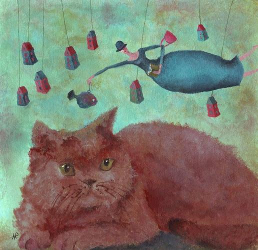 Anna Wojciechowska-Paprocka - Erzieherin meiner Katze
