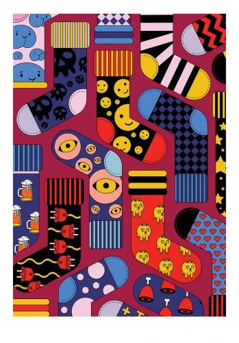 Aliaksandr Kanavalau - Different socks