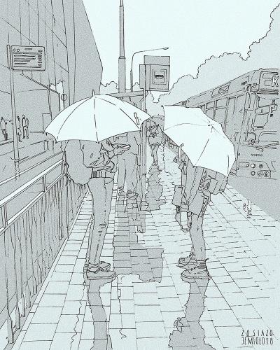 Zosia Jemioło - Rain