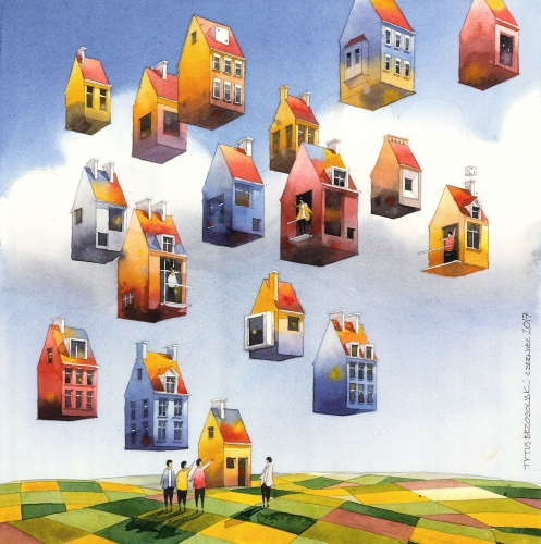 Tytus Brzozowski - Latające domy