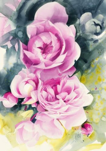 Karina Jaźwińska - Pink garden