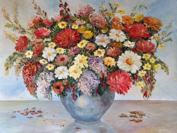 Zbigniew Pągowski - Flowers I