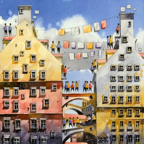 Tytus Brzozowski - Leben von Mietshäusern