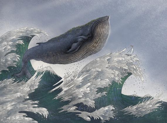 Marcin Minor - Mali podróżnicy- wieloryb