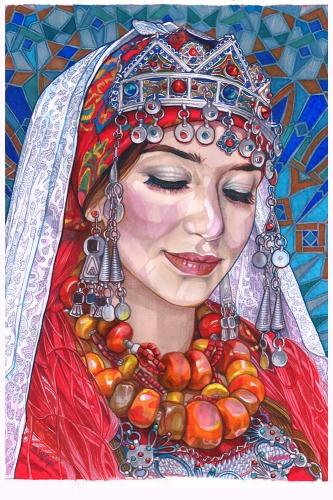 Monika Wyłoga - Amazigh woman III