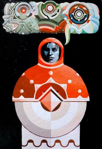 Waldek Borowski - TOLTECATL - THE LAST HOLOGRAPHIC PAPESSE