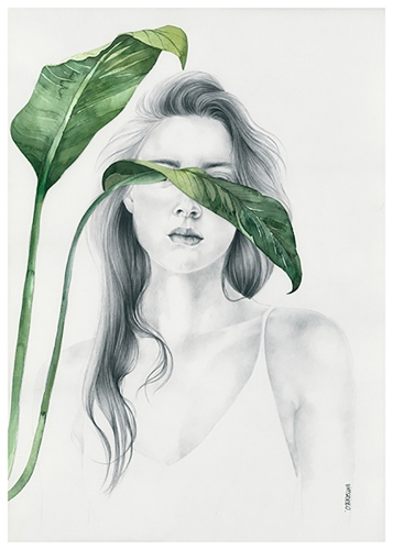 Agata Wierzbicka - Girl with the Leaves