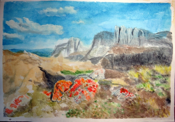 Alexey Esaulenko - Góry i równiny