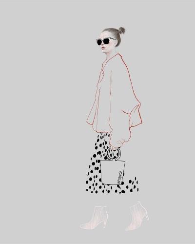 Agata Wierzbicka - Street Fashion - Dots