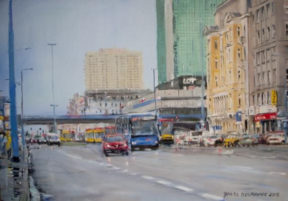 Janusz Dziurawiec - Blue Bus