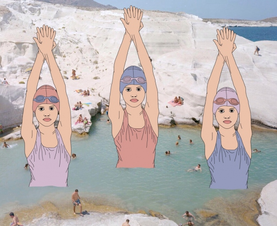Julia Borzucka - Swimmers