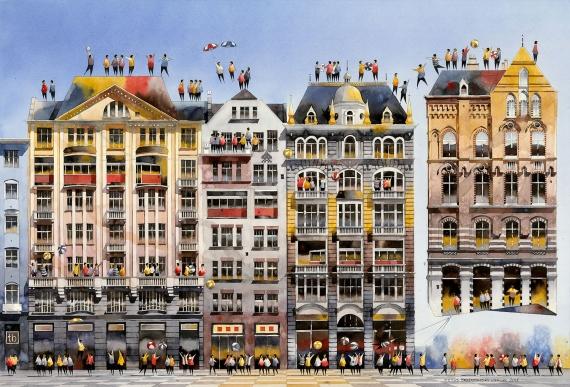 Tytus Brzozowski - Tenement houses