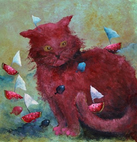 Anna Wojciechowska-Paprocka - My cat sailor
