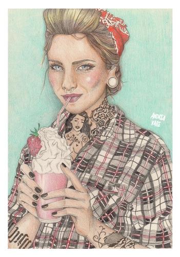 Andrea Vare - Strawberry girl