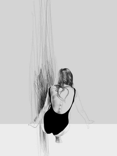 Agata Wierzbicka - Beach Black&White 1