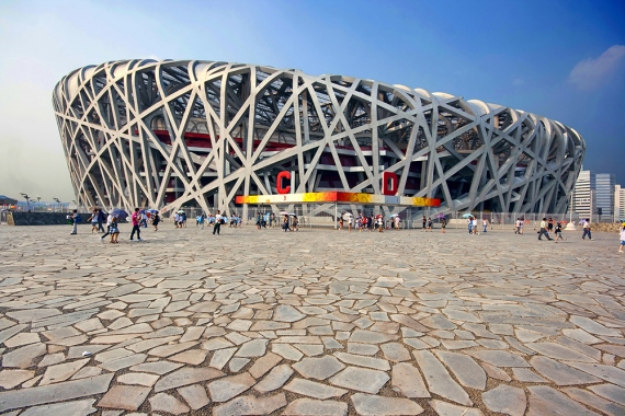 Wojtek Gurak - Bird's Nest Stadium Beijing designed by Herzog & de Meuron