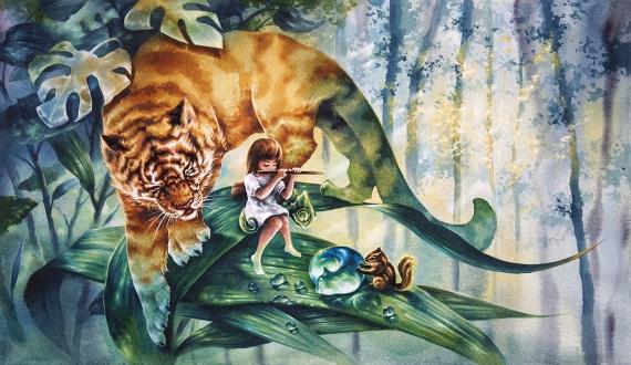 ERUDA art - NO.25 Tiger Episode