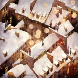 Winter rooftops of the Old Town - Tytus Brzozowski