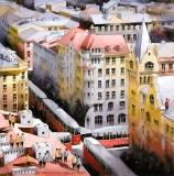 Roofs of past Warsaw - Tytus Brzozowski