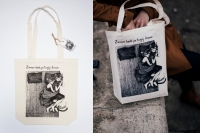 Cotton bag with graphics