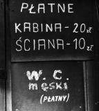 WC męski  - Zenon Żyburtowicz