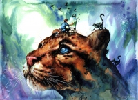 Leopard. no2 - ERUDA- art