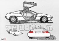 DeLorean DMC-12 - Zosia Jemioło