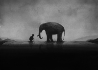 One Day In The Elephant Village - Elicia Edijanto