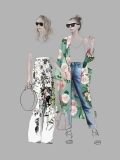 Street Fashion 7 - Floral - Agata Wierzbicka