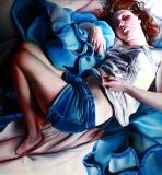 Blue blanket - Zofia Błażko