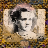 Portrait Maria Skłodowska Curie - Laura La Wasilewska