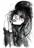 Black hat - Agnieszka Nawrat