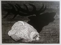 Reverse - deer - Petrela Kuźmicka
