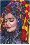 Amazigh woman IV - Monika Wyłoga