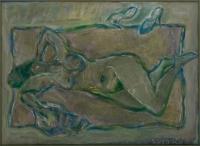 Akt zielony - Lidia Snitko-Pleszko