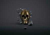 Złota czaszka  - Eugene Soloviev