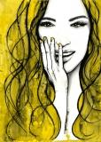 żółte włosy - Agnieszka Nawrat