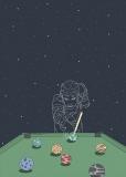 Kosmiczny bilard  - Julia Borzucka