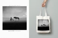 """Comforting Sounds"" cotton bag - Elicia Edijanto"