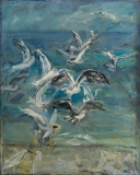 Gulls - Lidia Snitko-Pleszko