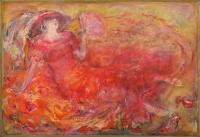 Rotes Kleid - Lidia Snitko-Pleszko