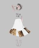 Street Fashion - Gold - Agata Wierzbicka