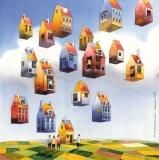 Flying houses - Tytus Brzozowski