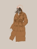 Street Fashion - Winter coat - Agata Wierzbicka