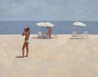 White umbrellas - Andrzej Tuźnik
