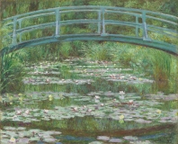 Japanese Bridge, Claude Monet